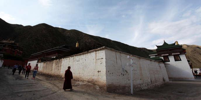 Le monastère de Labrang, en septembre 2012.