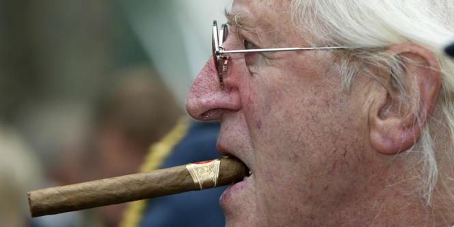 L'ancien animateur de la BBC, Jimmy Savile, en 2005.
