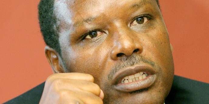 L'ancien président du Burundi, Pierre Buyoya, en novembre 2003.