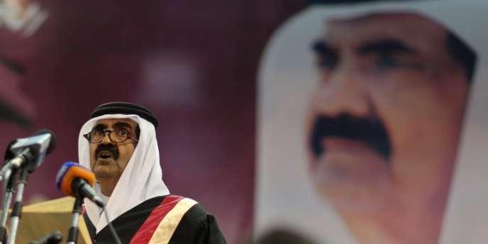 Le premier ministre du Qatar, cheikh Hamad Ben Khalifa Al-Thani, assure que son pays porte