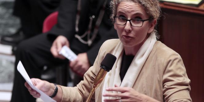 Delphine Batho, ministre de l'écologie, à l'Assemblée nationale, le 23 octobre.
