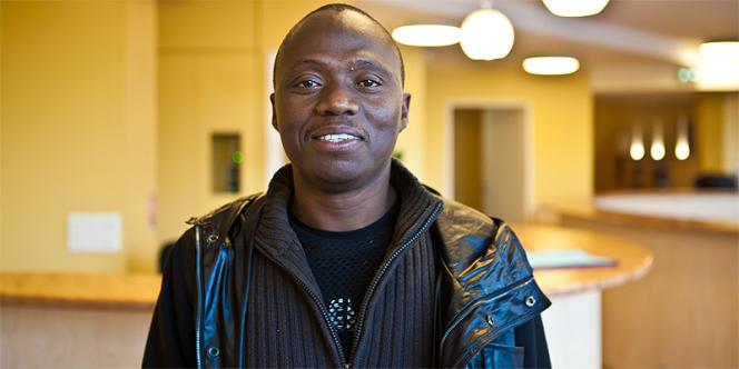 Soufiane, 36 ans, a fui la guerre en Côte d'Ivoire il y a cinq ans.