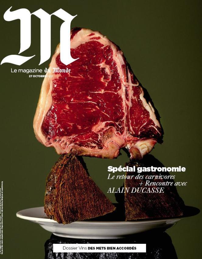 La Une de M Le Magazine du Monde.