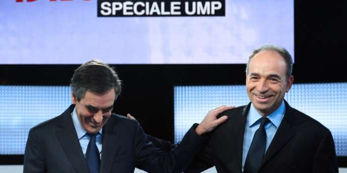 François Fillon et Jean-François Copé lors du débat télévisé,