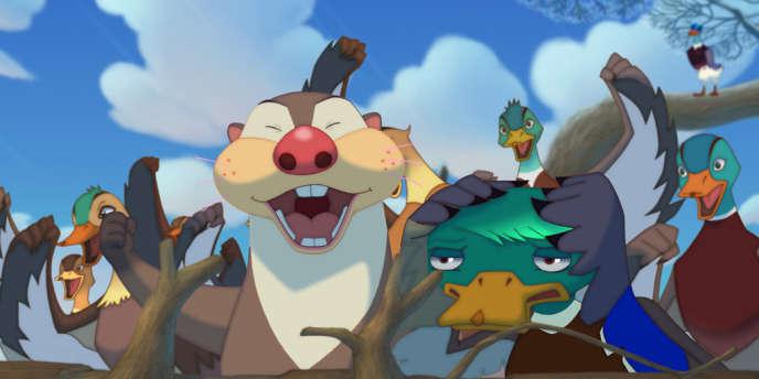 Une image du film d'animation coréen de Oh Seong-yun,