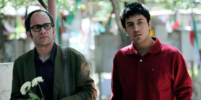 Babak Hamidian et Mehrdad Sedighian dans le film iranien de Massoud Bakhshi,