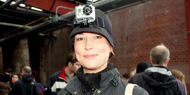 Les caméras GoPro sont utilisées partout, y compris dans des occasions sociales, comme ici un pique-nique.