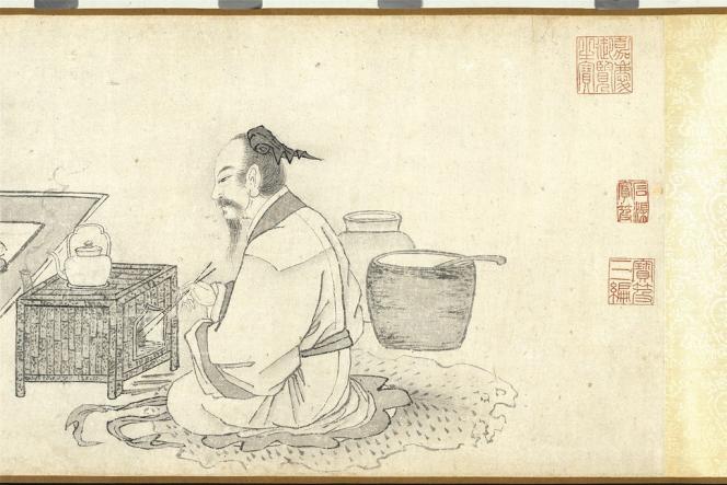 L'exposition raconte un rituel vieux de 4 000 ans à travers peintures et objets délicats.