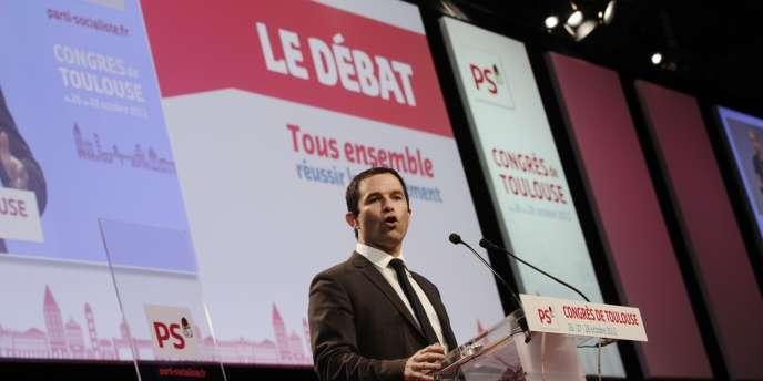 Benoît Hamon, ministre délégué à l'économie sociale et solidaire, affirme :