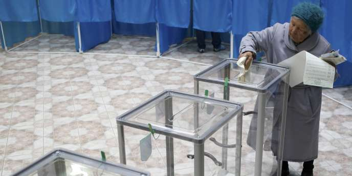 Les Ukrainiens étaient appelés aux urnes dimanche 28 octobre pour les élections législatives.