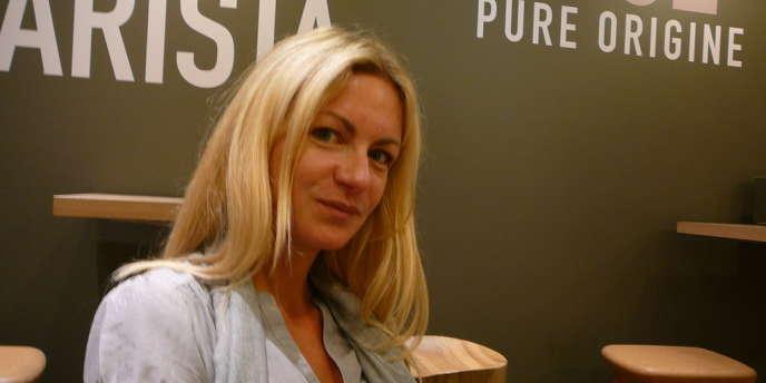 Stéphanie Chevrier, fondatrice et directrice des éditions Don Quichotte en 2012.