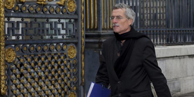 Le juge Renaud Van Ruymbeke à Paris, le 24 octobre 2012.