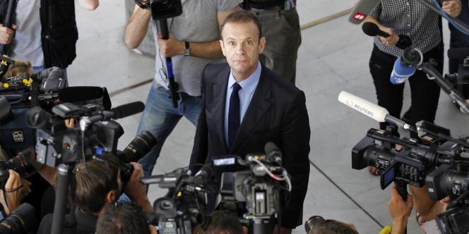 François-Marie Banier, le 1er juillet 2010 à Paris.