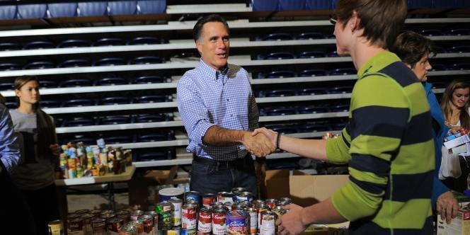 Mitt Romney à Kettering, dans l'Ohio, mardi 30 octobre.