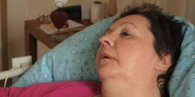 Véronique Ringenbach tient à se maquiller tous les jours,