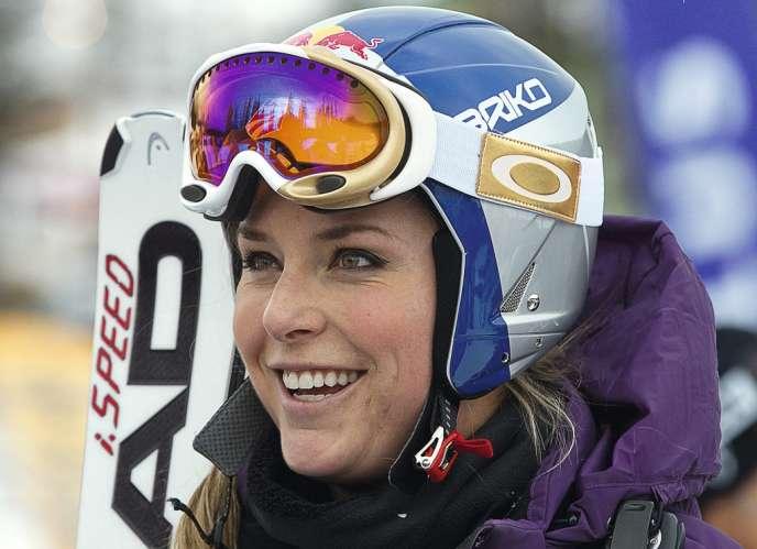 En demandant  à concourir avec les hommes,  la skieuse a  en tout cas fait parler d'elle.  Un joli coup marketing ? photo: Andy Clark/Reuters