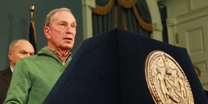 Michael Bloomberg, le maire de New York, le 2 novembre.