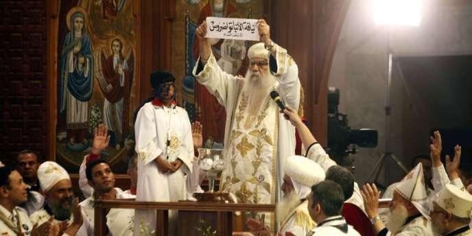 Le tirage au sort de Tawadros II comme nouveau patriarche des coptes, le 4 novembre.