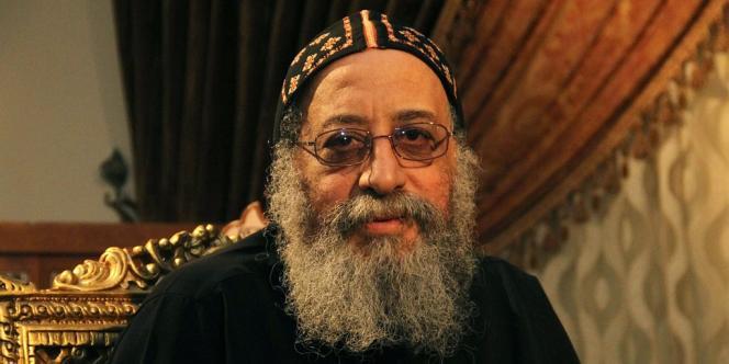 L'évêque Tawadros, nouveau patriarche des coptes, le 17 octobre.