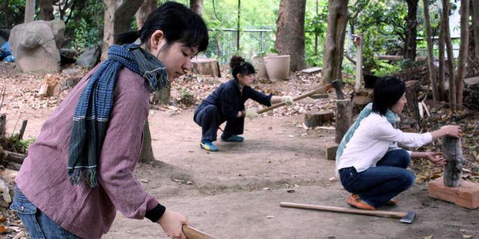 Une image du film documentaire japonais de Naomi Kawase,