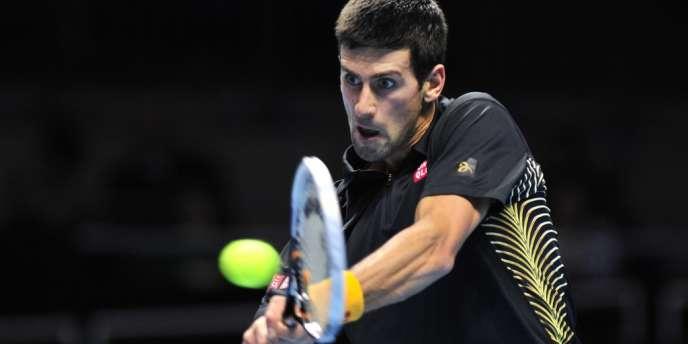 Le Serbe Novak Djokovic, le 5 novembre à Londres.