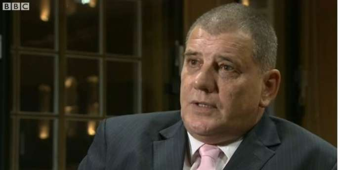 Steeve Messham, une des victimes présumées de l'homme politique, s'est exprimé sur la BBC.