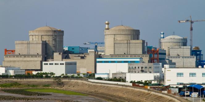 Centrale nucléaire de Qinshan, dans la province chinoise de Zhejiang.