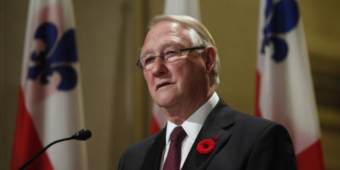 Gérald Tremblay, mis en cause dans le financement illégal de son parti, a dû démissionner, le 5 novembre, de son poste de maire de Montréal.