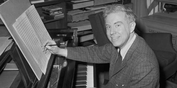 Elliott Carter, en 1960.