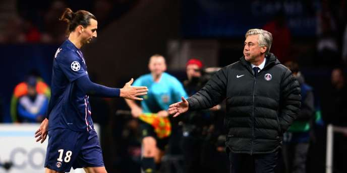 Zlatan, Carlo. Carlo, Zlatan. Paris, le 6 novembre.