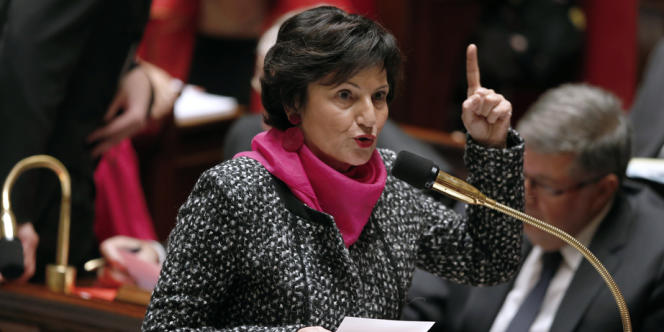 Dominique Bertinotti, en octobre à l'Assemblée nationale.