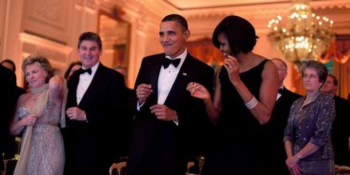 Barack Obama et Michelle.