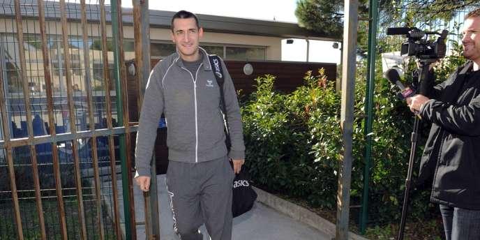 Dragan Gajic, ici le 7 novembre, s'est entraîné avec l'équipe de Montpellier, selon le club héraultais.