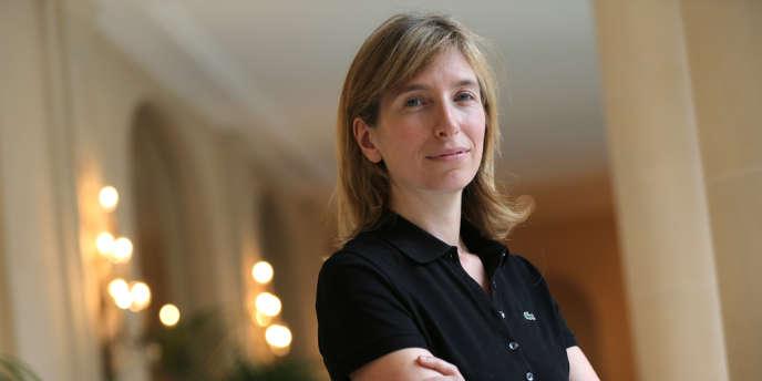 Sophie Lacoste-Dournel, la présidente de Lacoste, le 7 novembre 2012 à Paris.