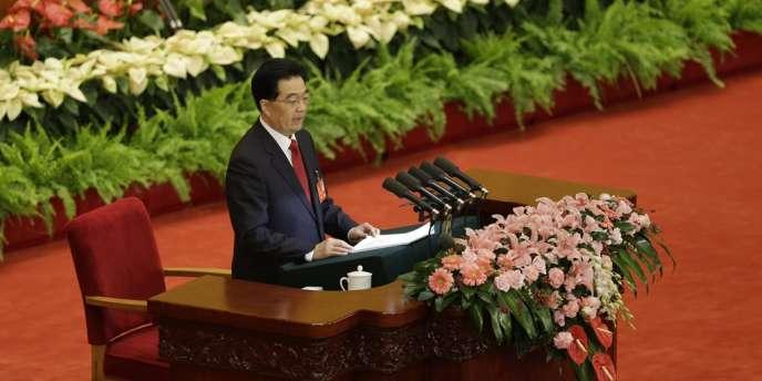 Le président chinois Hu Jintao a dressé un bilan flatteur de son bilan à la tête du Parti, lors de son discours, le 8 novembre, lors de l'ouverture du 18e congrès du PCC, à Pékin.
