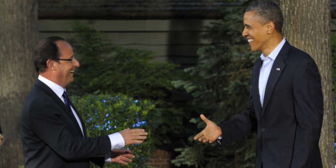 François Hollande et Barack Obama, le 18 mai à Camp David.