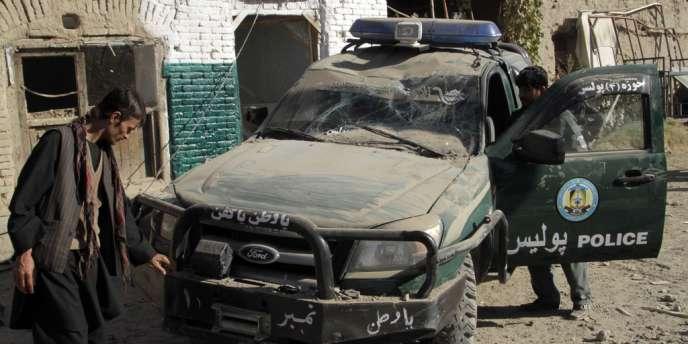 Une bombe a tué cinq soldats afghans dans la province du Laghman, jeudi.
