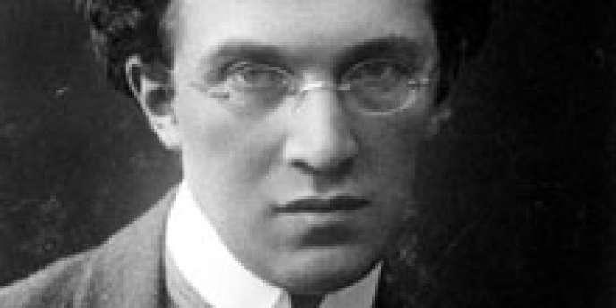 Le compositeur autrichien Franz Schreker vers 1911.
