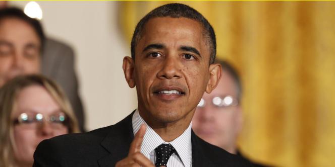 Barack Obama, lors d'une allocution à la Maison Blanche le 9 novembre 2012.