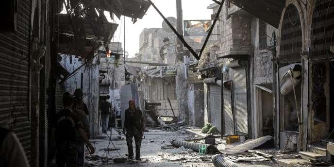 Alep, le 8 novembre.