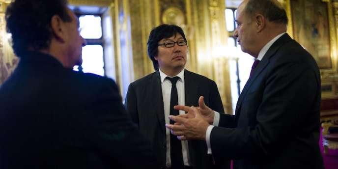Jean-Vincent Placé, président du groupe écologiste au Sénat, plaide pour