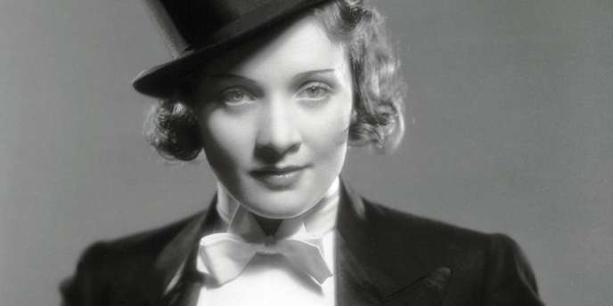 Marlene Dietrich dans le rôle de Lola Lola.