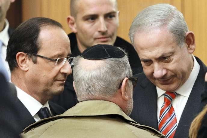 Le 1er novembre, à Toulouse, François Hollande et  le premier ministre israélien Benyamin Nétanyahou lançaient un appel commun contre l'antisémitisme.
