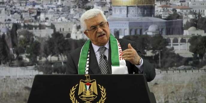 Mahmoud Abbas à Ramallah, le 11 novembre.
