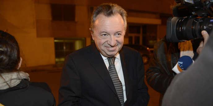 Le président du conseil général des Bouches-du-Rhône, Jean-Noël Guerini, le 12 novembre 2012 à Marseille.