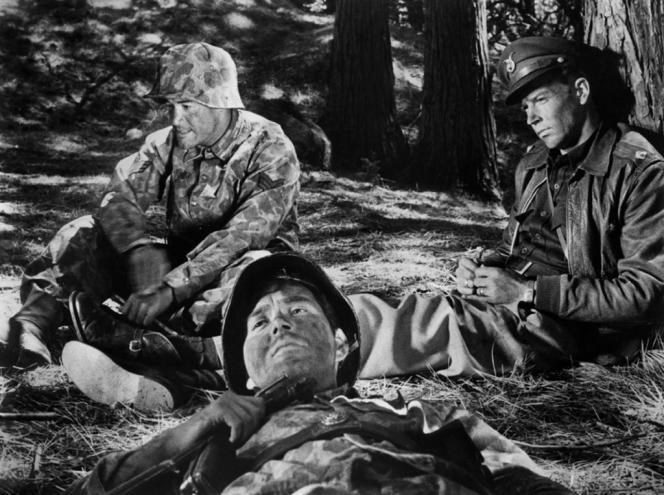 Une scène du film américain de Stanley Kubrick,