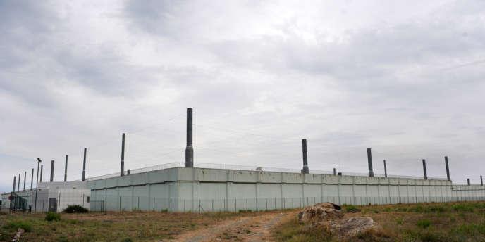 Vue de la maison d'arrêt de Borgo, au sud de Bastia, où est incarcéré depuis 2009 Andy F.