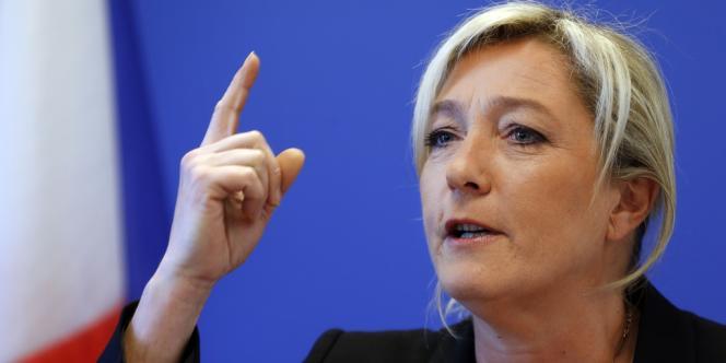Marine Le Pen, le 6 novembre 2012 à Nanterre.