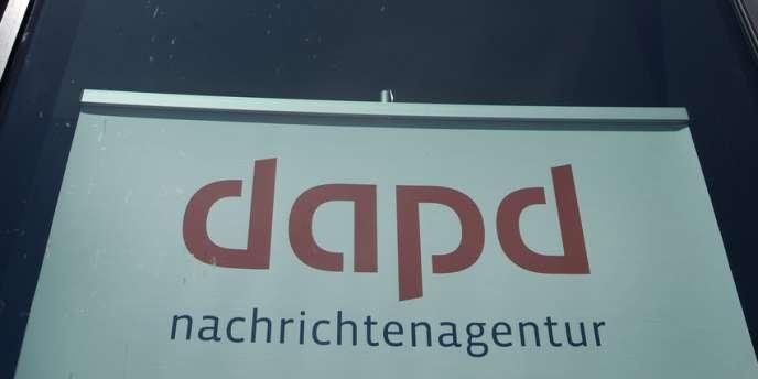 Les bureaux berlinois de DAPD le 10 mai 2011.