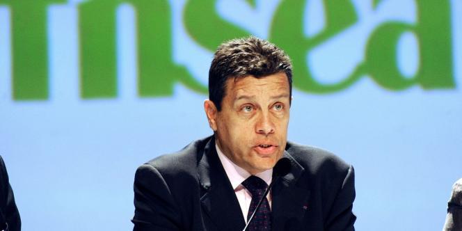 Xavier Beulin, le président de la FNSEA